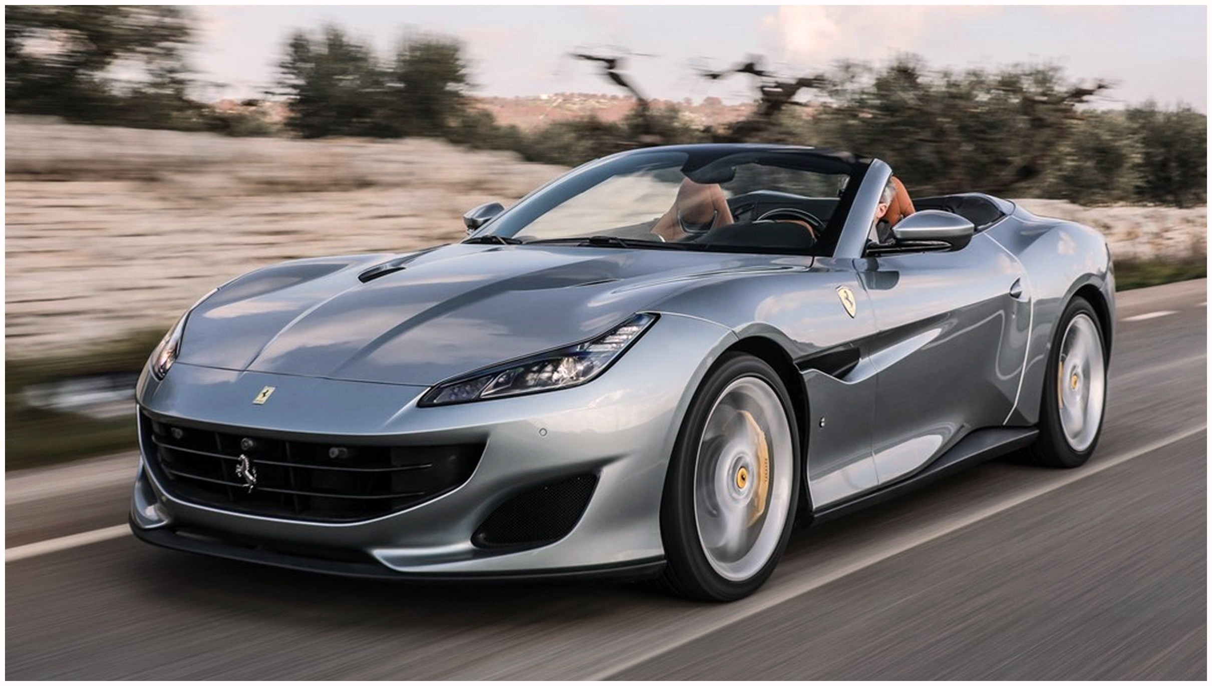 Ferrari Portofino HD wallpapers 4k images download free