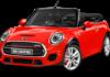 Mini USA Car Model HD wallpapers Red