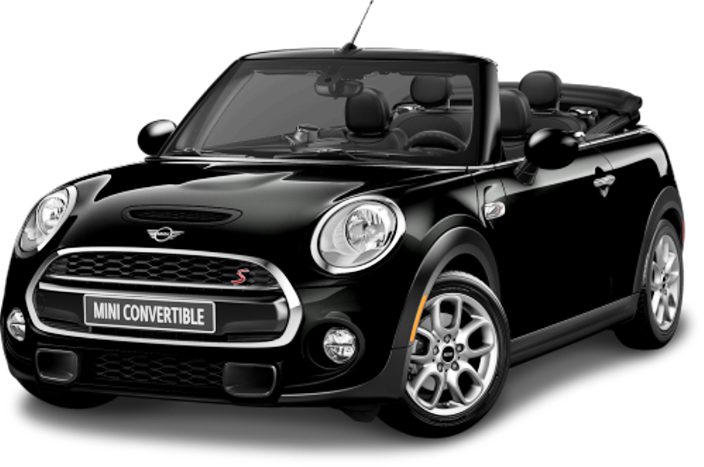 Mini USA Car Model HD wallpapers in BLack Color