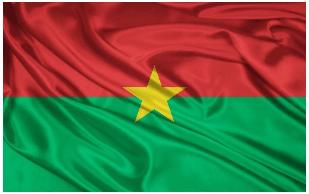 burkina faso flag full HD