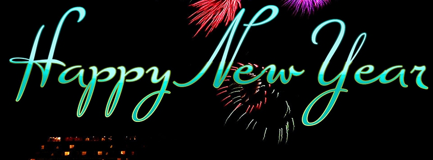 Download Happy New Year Facebook Covers