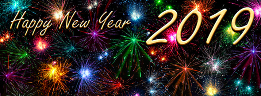 Happy New Year FB cover Photos 2019