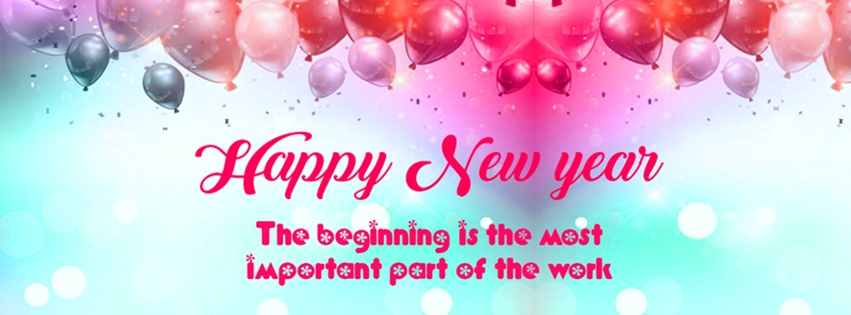 Happy New Year HD Facebook Cover Pictures