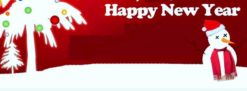 Happy New Year new cover photos for facebook