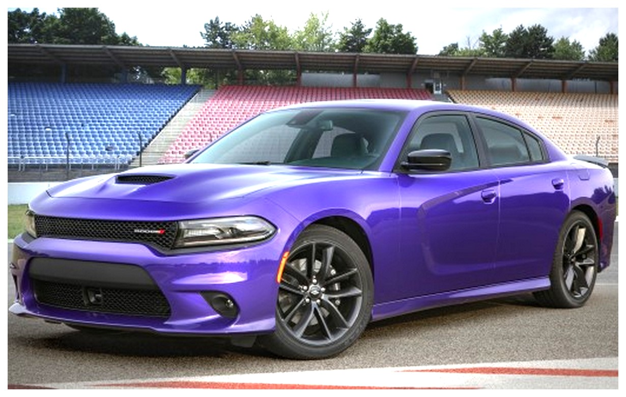 Purple Dodge Charger GT Wallpaper